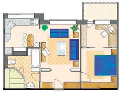 перепланировка 1 комнатной квартиры 2