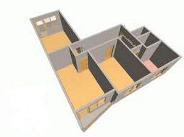 перепланировка 3 х комнатной квартиры 2